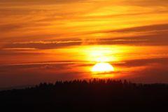 Märchen-Sonnenuntergang