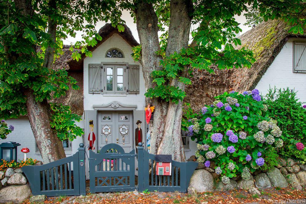Märchenhaftes Haus in Keitum