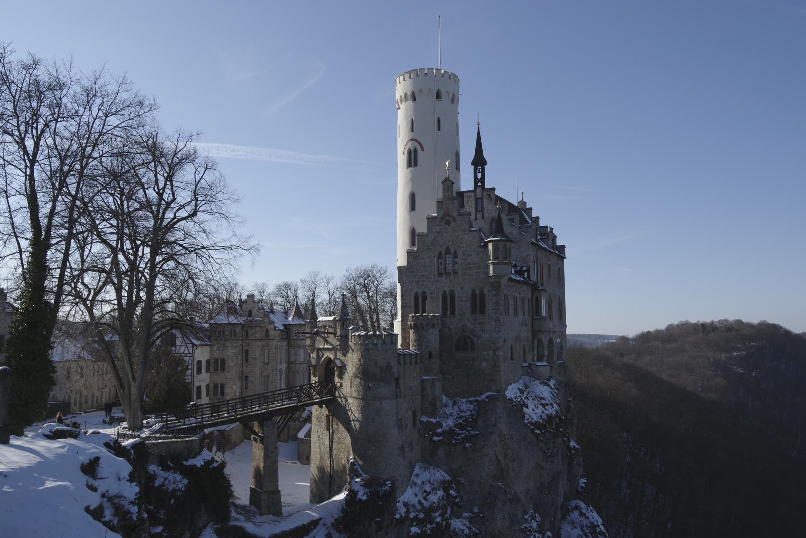 Märchenschloss im Winter