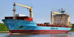 Maersk Arkansas von Riga nach Bremerhaven