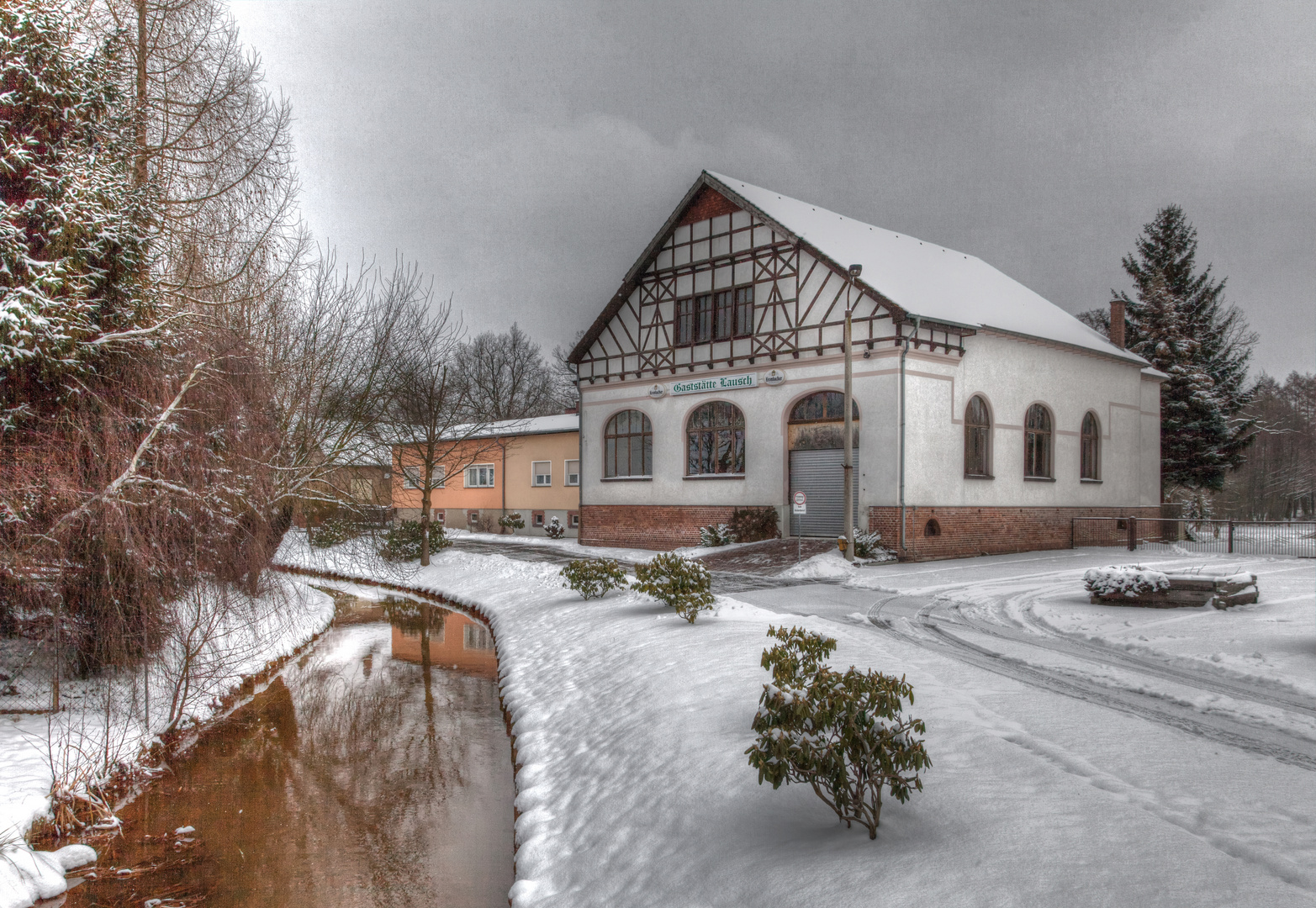 Märzenwinter in Naundorf