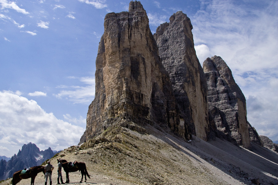 Maestosità delle tre cime