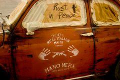 Mafia Staff car