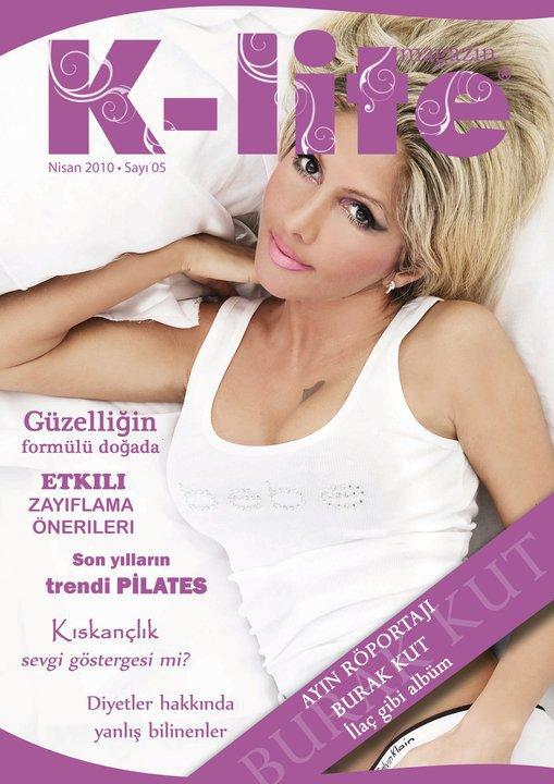magazin k-lite cover model filis