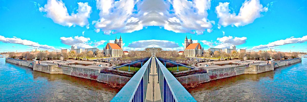 Magdeburg - Eine Insel....