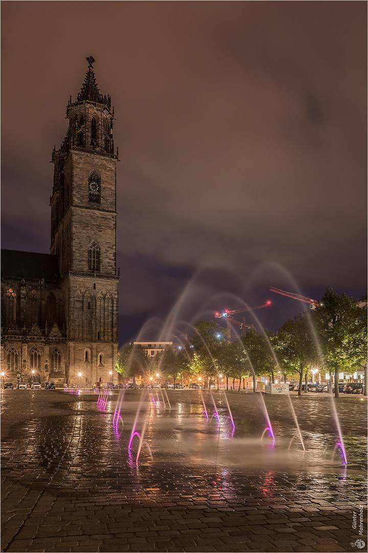 Magdeburg, Wasserspiele