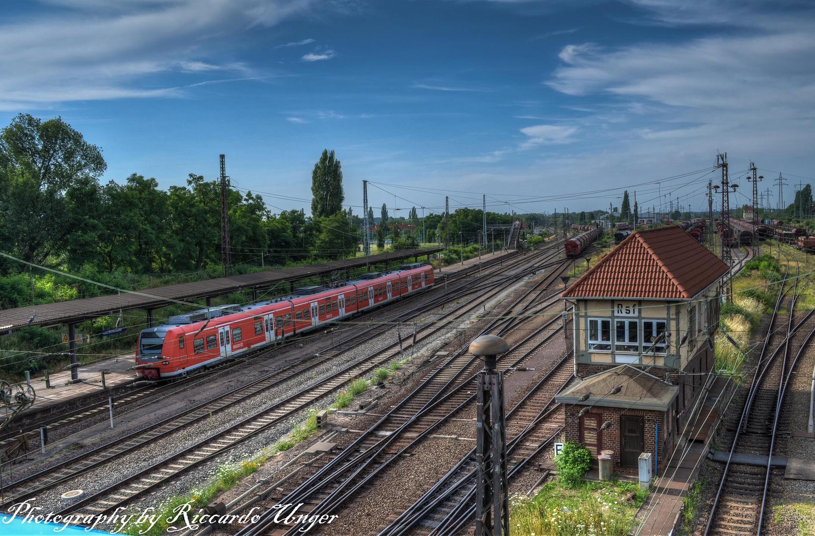 Magdeburger Bahnhof Eichenweiler