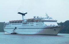 Magellan , das erste Mal in Hamburg