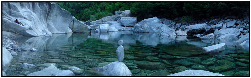 Maggiatal, Tessin, Schweiz... die Steine waren schon so...