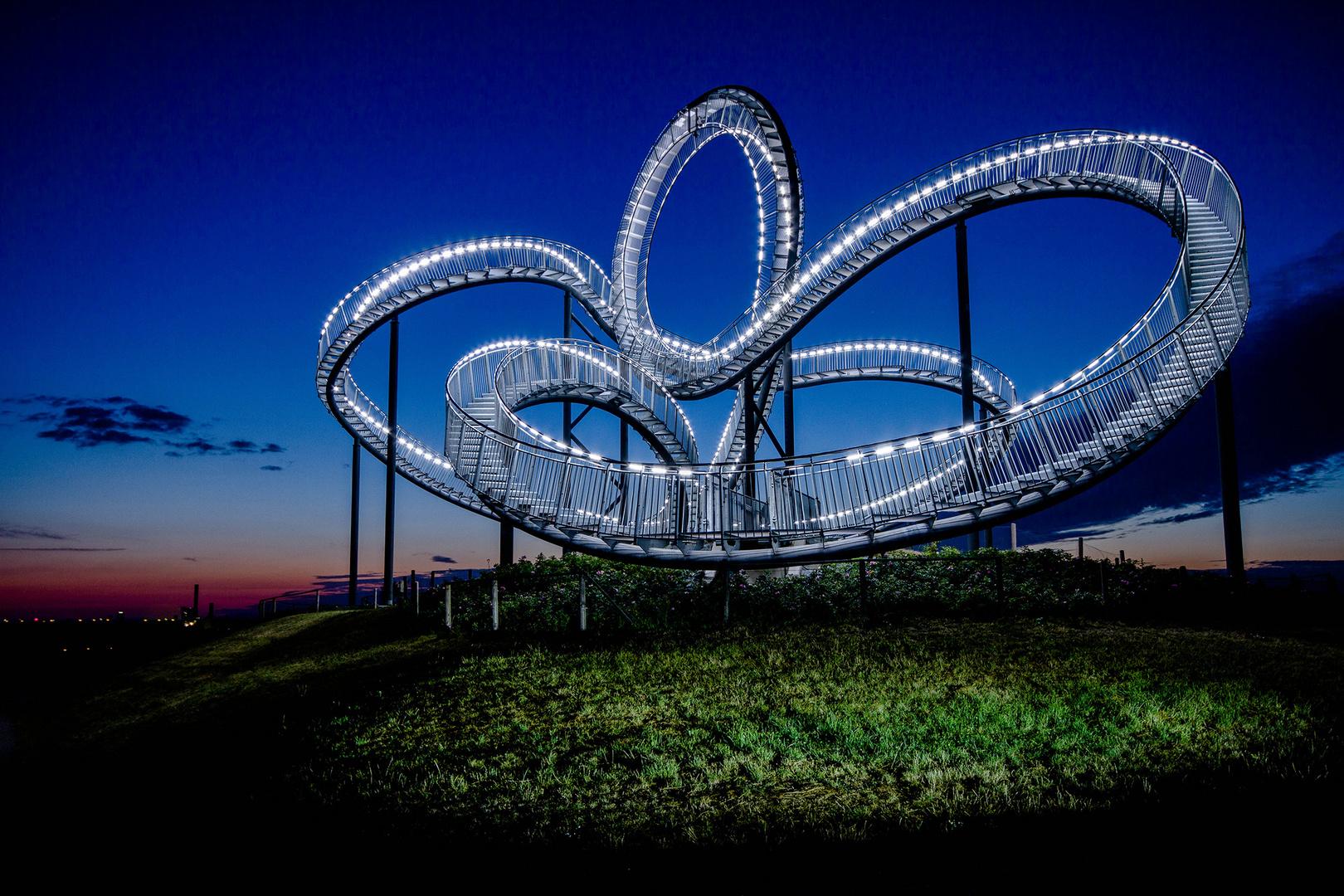 Magic Mountain- Duisburg ist eine Reise wert