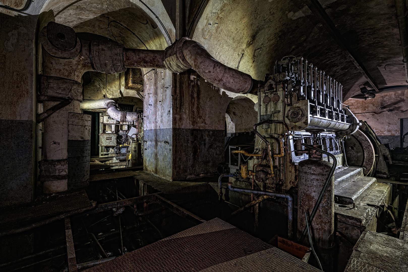 Maginot-Linie, der Diesel 1