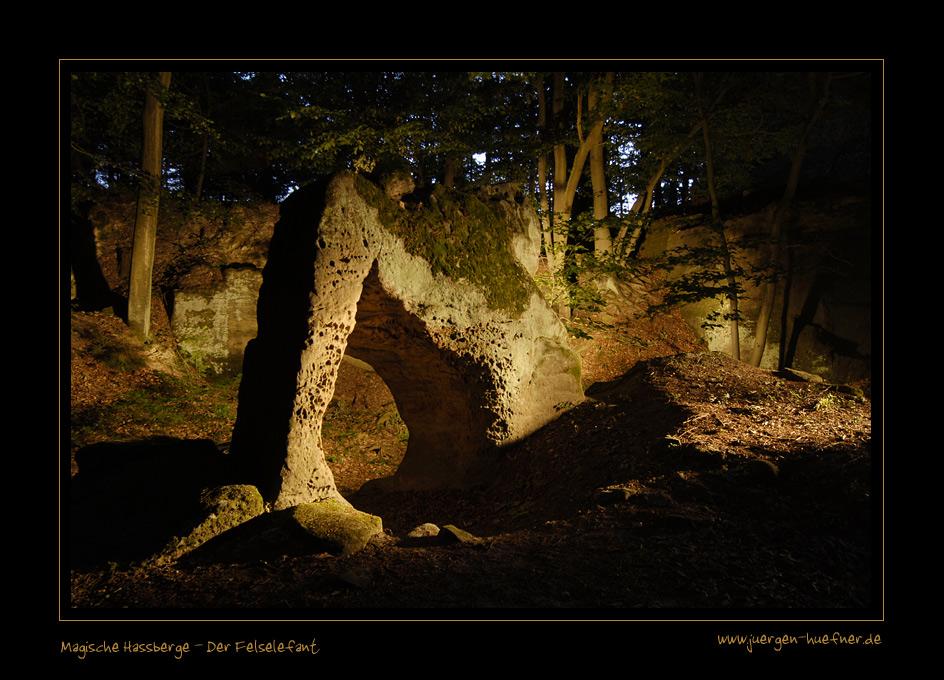 Magische Hassberge - Der Felselefant