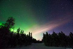 Magische Momente (Polarlichter in Finnland)