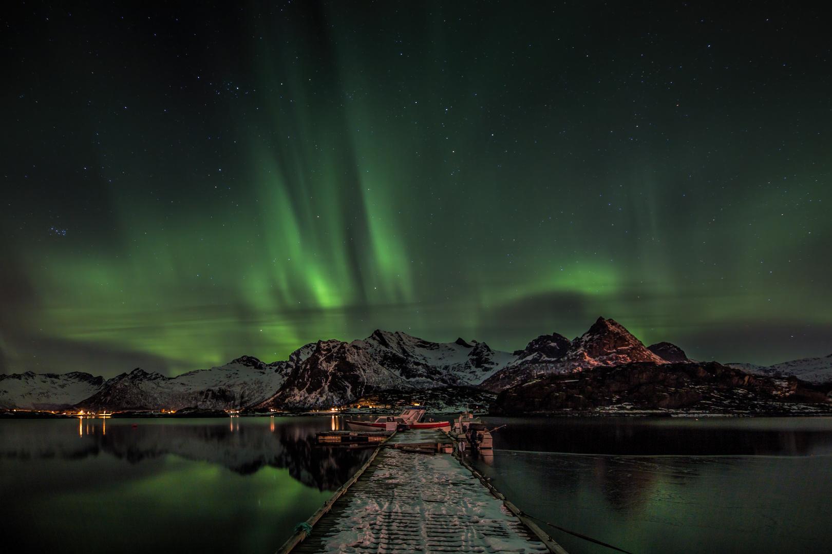Magische Polarlichter