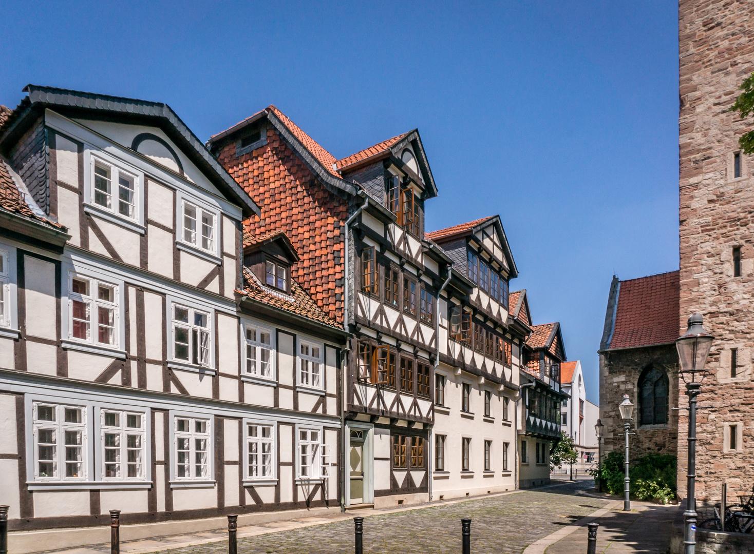 Magniviertel Ii Braunschweig Foto Bild Altstadt Fachwerk