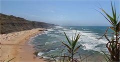 Magoito, una bella spiaggia.