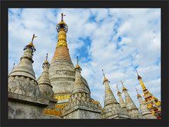 Maha Aungmye Bon Za Stupas