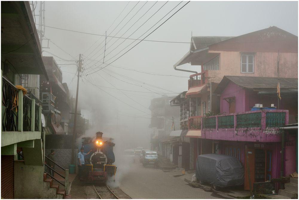 Mahanadi in Wolken