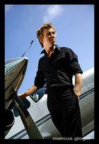 Maik mit seinem Flugzeug ;-)