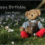 Maike hat Geburtstag