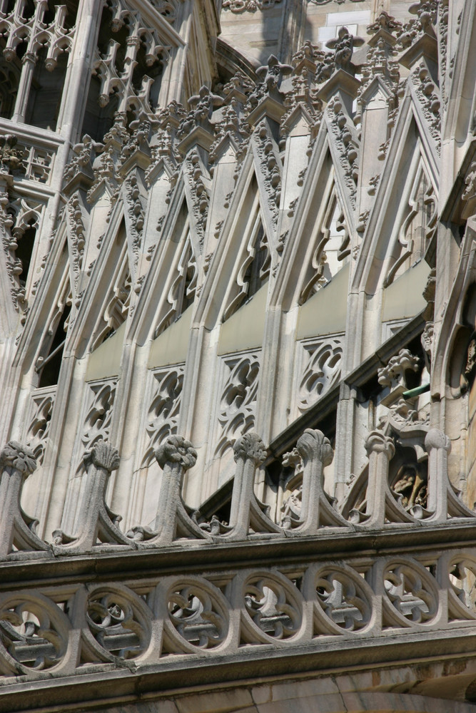 Mailand - Auf dem Dach des Doms