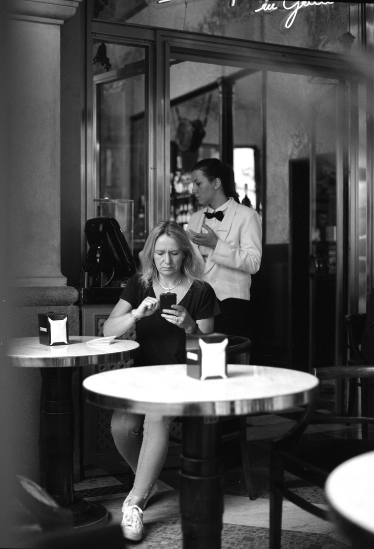 Mailand, Cafe
