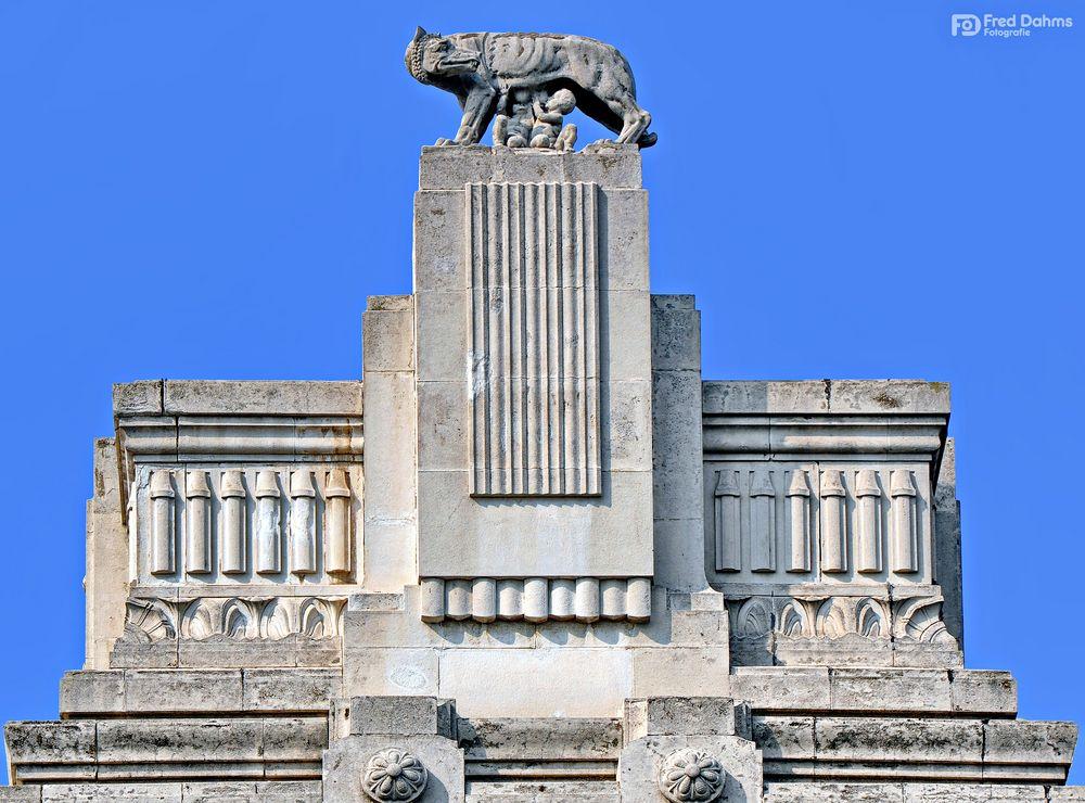 Mailand, Kapitolinischen Wölfin, Romulus und Remus
