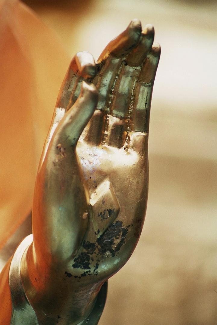 main de bouddha