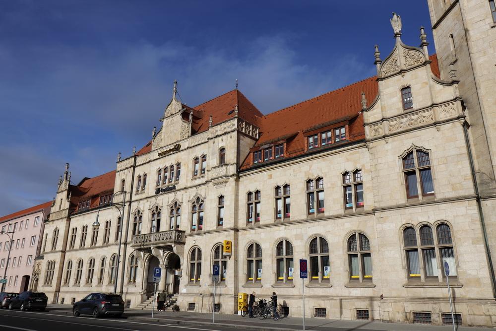 Main post office in Dessau