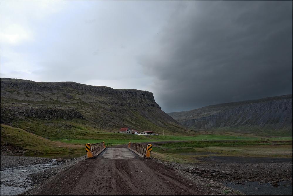 Main road...