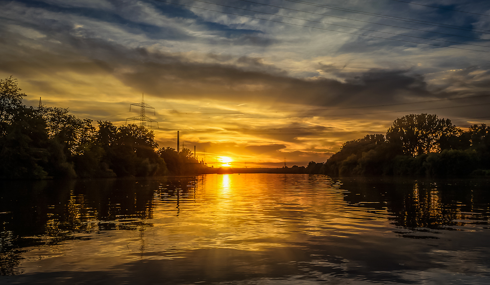 Main Sonnenuntergang