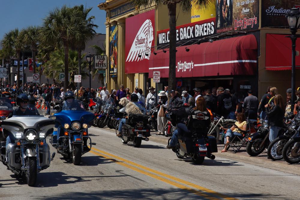 Main Street - Daytona Beach Bike Week 2013