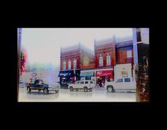 main street wet, experimental
