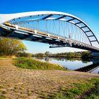 Mainaue bei Sulzbach Blaue Brücke