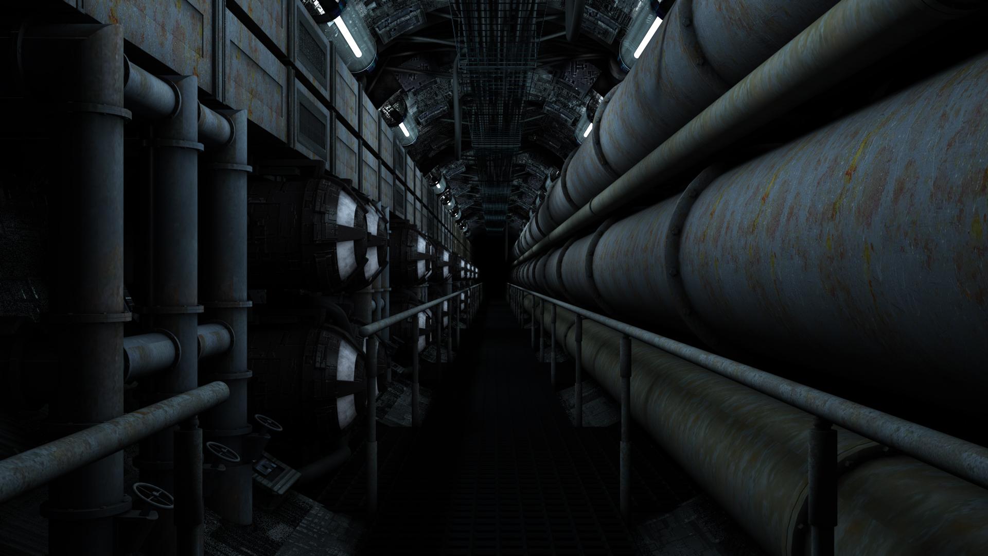 Maintenance-Corridor