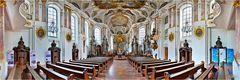 Mainz Augustinerkirche in 180 Grad