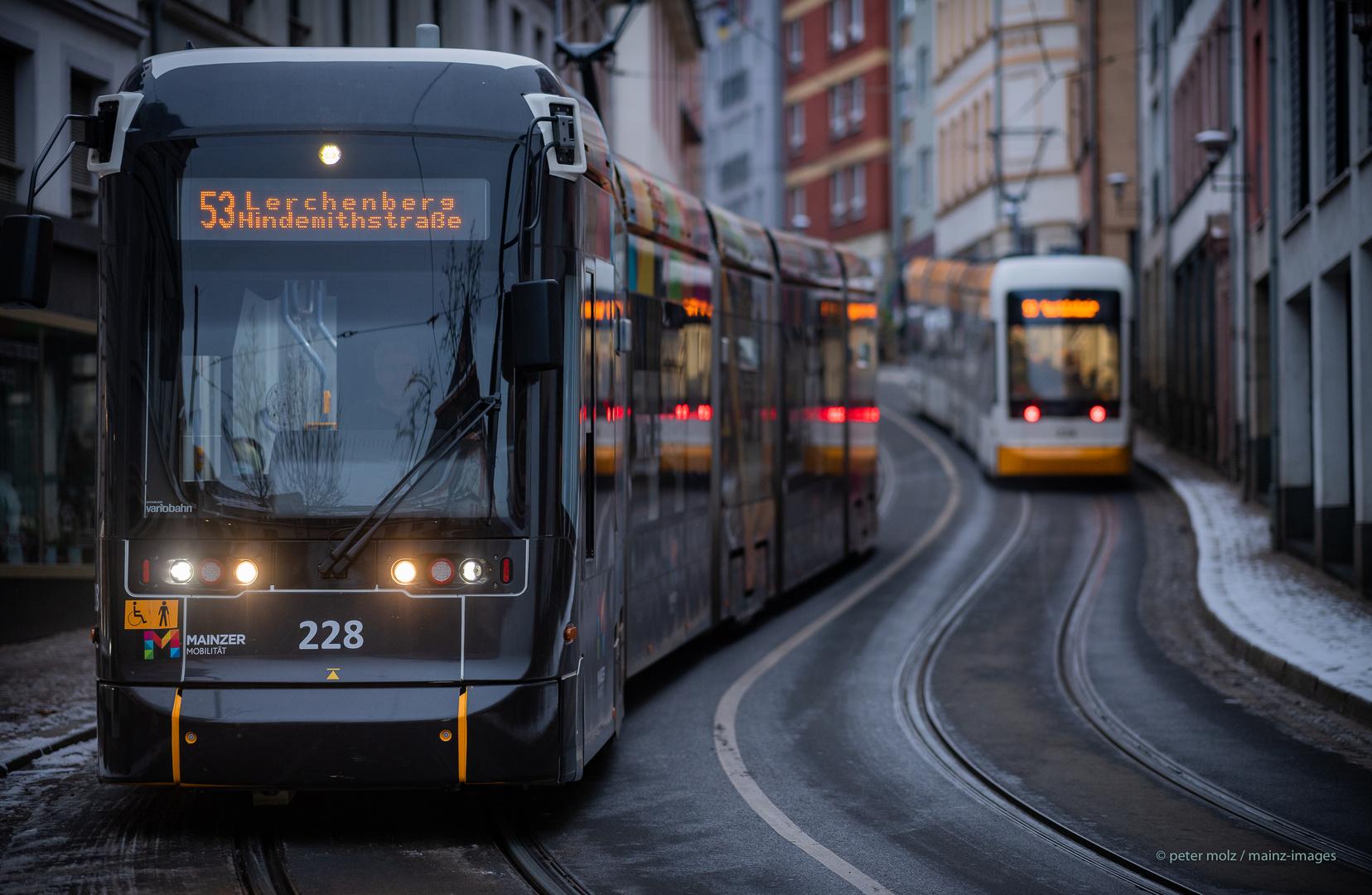 Mainz - Black Trams Matter