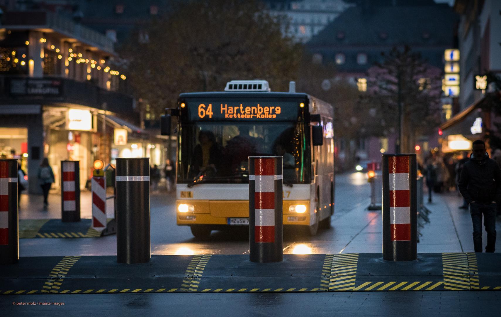 Mainz - Hardcore-Linearentschleuniger im Herzen der Stadt