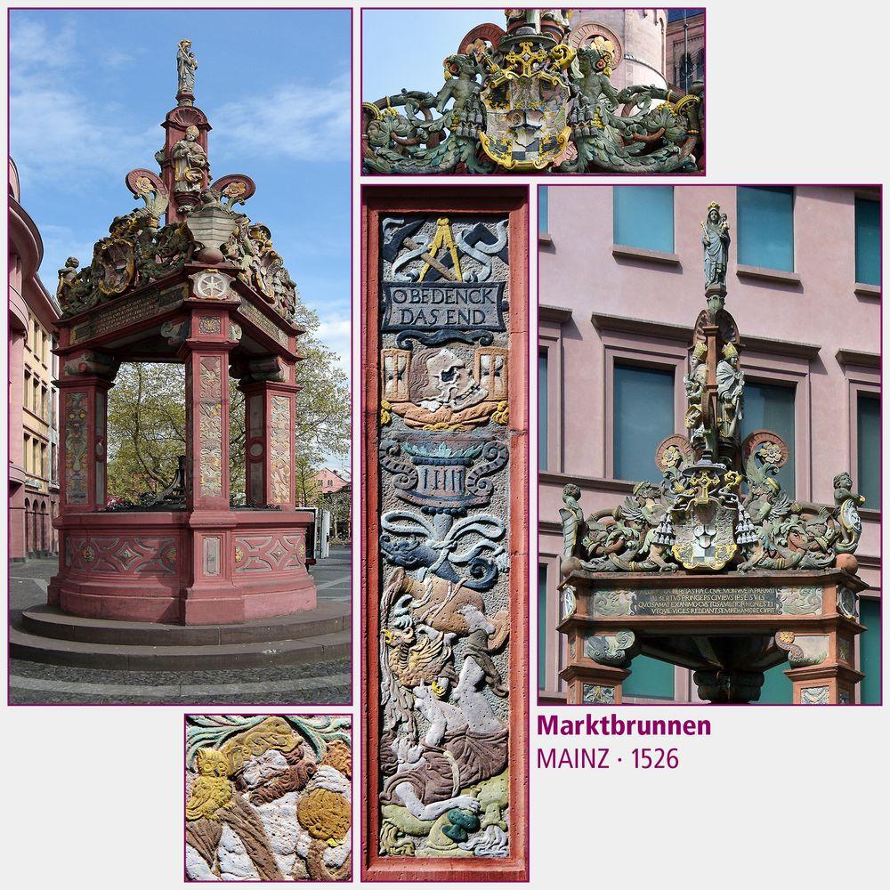 Mainz · Marktbrunnen