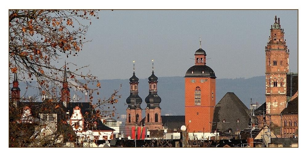 Mainzer Innenstadttürme