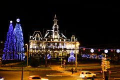 mairie de Limoges à Noel