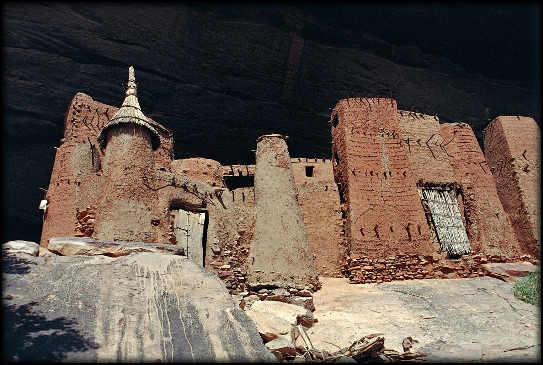 Maison de chasseurs Telem, falaise de Bandiagara