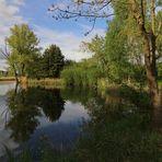 Maisonne am Teichufer