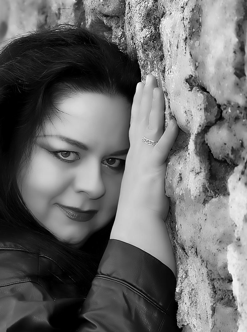 Maja an der Mauer