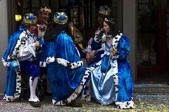 Majestäten pausieren