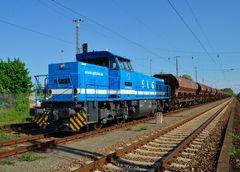 Mak G1206 von Spitzke im Bahnhof Zossen