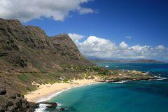 Makapu Beach Park auf Oahu