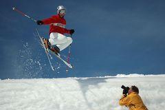 Making of (a good ski action foto) 2 (reload)
