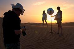 Making of desert fashion