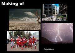 #  Making of - Super Heros
